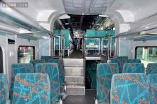 Snapshot: Inside the double-decker coach of the superfast express train to be introduced between Kacheguda and Guntur