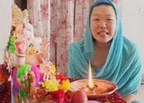 Korean students seek Lord Ganpati's blessings