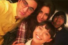 Ranbir Kapoor, Katrina Kaif Pose For a Fun Picture With Sayani Gupta