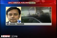 Abdul Kalam was a people's President: Shashi Tharoor