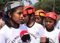 Helmet saves life, kids tell Chennai