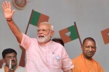 PM Narendra Modi's Election Rally in Amroha, Uttar Pradesh