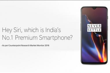 Hey Siri, Which is India's No 1 Premium Smartphone?' Asks
