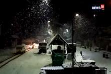 Due To Heavy Snowfall, Jammu Srinagar National Highway Closed