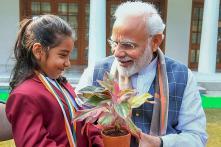 PM Narendra Modi Meets Winners of Rashtriya Bal Puraskar 2019