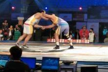 Mumbai Garuda beat Dilli Veer to storm into semis of Pro Wrestling League