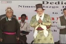 PM Modi suggests 3 Ps for Leh - prakash, paryatan, paryavaran; hits out at Pak while addressing troops