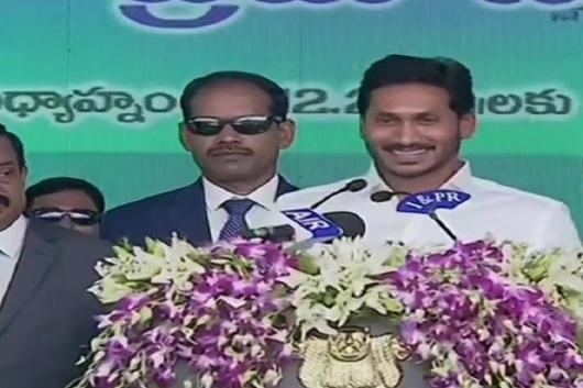 YS Jagan Mohan Reddy sworn-in as the Chief Minister of Andhra Pradesh.