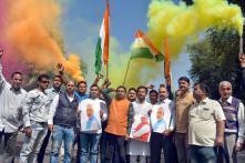 PICS  Nation Celebrates Indian Air Force's Anti-Terror Strikes
