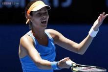 Bouchard beats Ivanovic to reach Australian Open semis