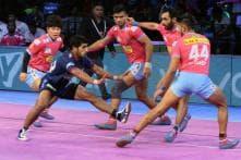 Pro Kabaddi 2018: Jaipur Pink Panthers Beat Haryana Steelers 36-33