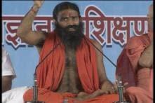 Ramdev campaigns for BJP candidates accused in Muzaffarnagar riots