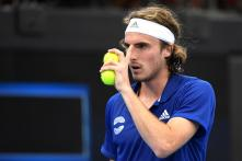 'It Happened Accidentally': Stefanos Tsitsipas After Racquet Swipe Hurts Dad During ATP Cup