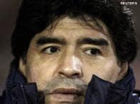 Maradona starts World Cup team pruning after ban