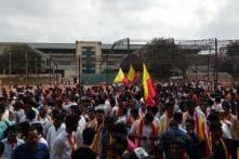 Massive Rally Underway in Bengaluru, Pro-Kannada Group Demands Quota for Locals in IT Capital