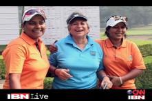 Pakistani women golfers enthral Delhi