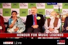 Indian music legends honoured