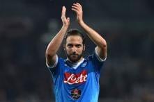Napoli Striker Higuain Undergoes Juventus Medical