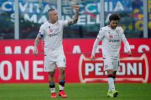 Serie A: Lautaro Martinez Gets Red-carded as Radja Nainggolan Frustrates Inter Milan