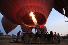 New Year 2018 Goals: Hot Air Ballooning in Goa