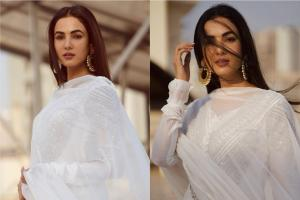 Sonal Chauhan Looks Irresistible In Salwar, See Diva Stun In Shades Of White
