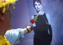 Hepburn's little dress is big for India