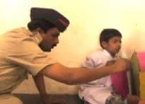 Cops adopt HIV-positive boy