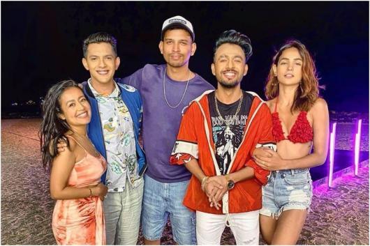 While Neha Kakkar-Aditya Narayan are 'Single', Tony Kakkar Shoots a Music Video with Them