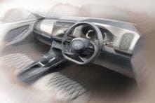 New Hyundai Creta SUV Interior Sketches Revealed, Gets Massive Touchscreen System