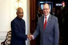 Ram Nath Kovind Meets Prince Of Monaco Prince Albert II