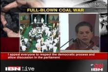 Parliament deadlock: Sonia talks tough on BJP