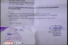 Complaint letter against Kejriwal's secretary Rajender Kumar
