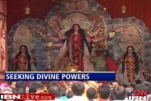 Bihar politicians invoke Goddess ahead of polls