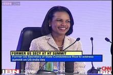 India-US share a common goal of curbing terrorism, Condoleezza Rice