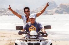 Varun Dhawan Rides ATV with Father David Dhawan, Ranveer Singh and Vicky Kaushal React