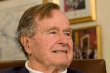 Former US President George H.W. Bush Hospitalised