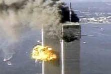Obama signs the World Trade Center beam