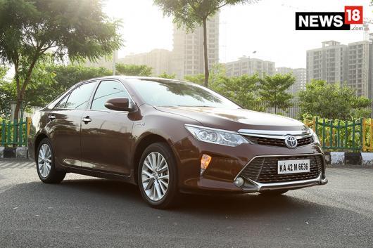 Toyota Camry Hybrid. (Photo: Siddharth Safaya/News18.com)