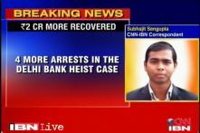 Delhi ATM van robbery: Police arrest four more