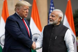Trump at Hyderabad House to 'Talk Business' with PM Modi