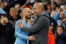 Manchester City's David Silva Hailed as a 'European Great' by Pep Guardiola