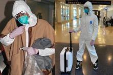 Naomi Campbell Wears Hazmat Suit at Airport Amid Coronavirus Scare