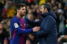 No Let-up as Barcelona Target Cup Final: Ernesto Valverde