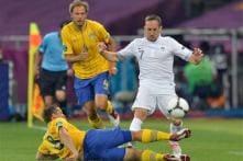 In pics: Euro 2012, Sweden vs France