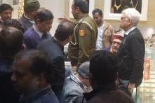 AAP's Sanjay Singh Accuses Union Minister Giriraj Singh of Distributing Money Ahead of Delhi Polls