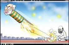 Election Cartoons: How Amit Shah, Narendra Modi will celebrate this Diwali