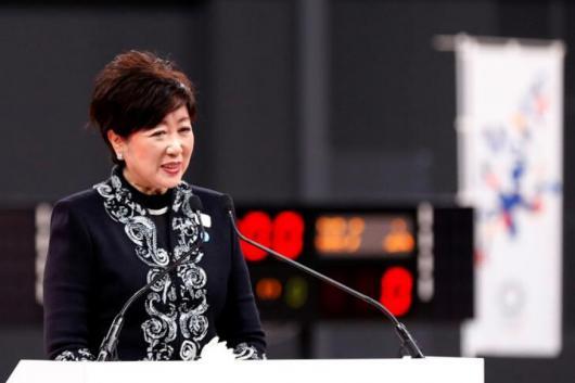 Tokyo Governor Yuriko Koike (Photo Credit: Reuters)