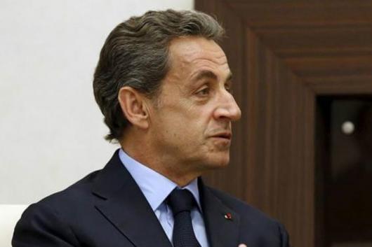 File Photo of Former French President Nicholas Sarkozy.