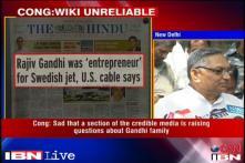 WikiLeaks allegations only a sensation: Congress