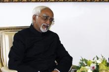 Hamid Ansari attends AU golden jubilee function